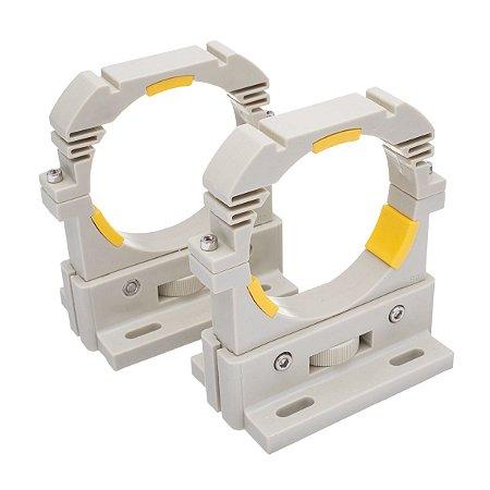 kit suporte de tubo laser 80mm