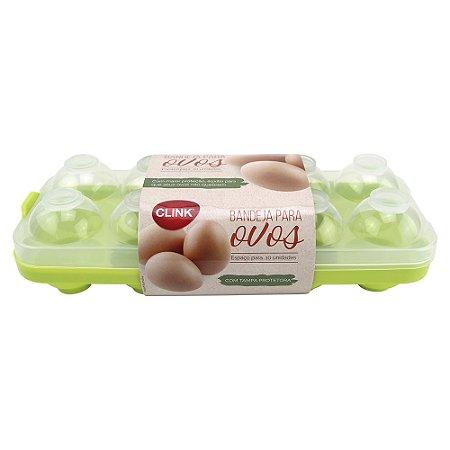 Bandeja para 10 ovos CLINK com tampa