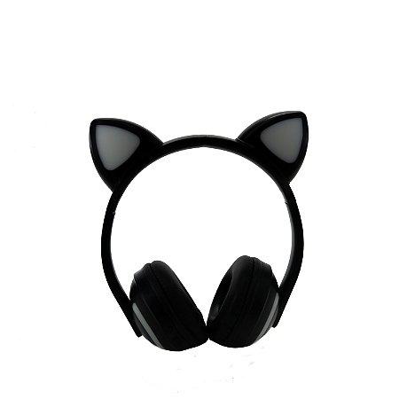 Fone de ouvido wireless orelhas de gatinho HMASTON