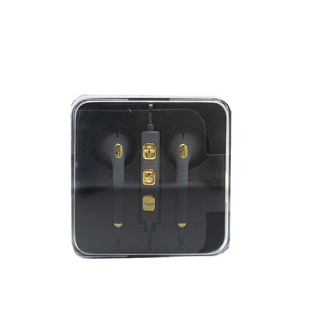 Fone de ouvido simples G62 Hmaston preto