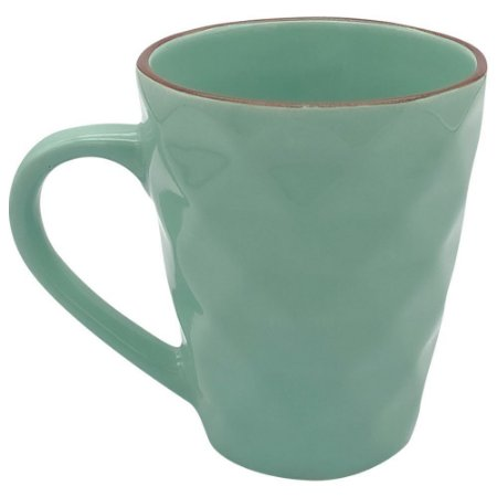 CANECA DIAMANTE COLORIDA 270ML CLINK