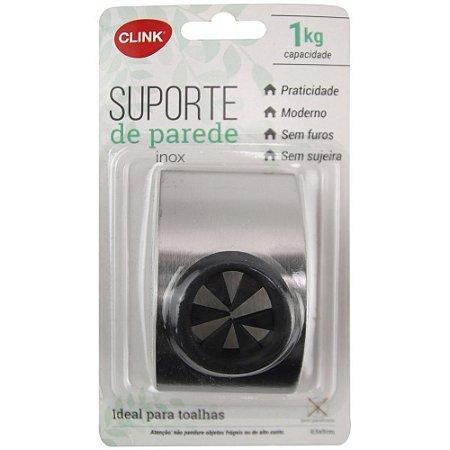 SUPORTE PAREDE PLUG INOX CLINK