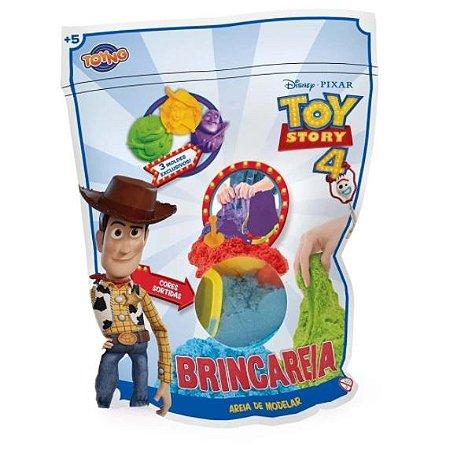 Areia de Modelar - Brincareia - Toy Story 4 - Saquinho 300g - Toyng