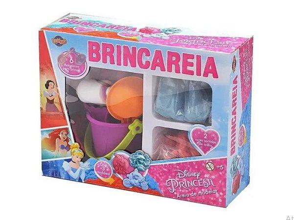 Kit Areia de Modelar Caixa Grande Princesas TOYNG