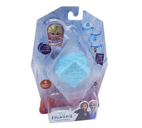Mini Figura Elsa Frozen 2 Disney Cristal Mágico Toyng
