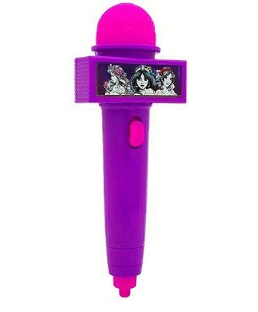 Microfone infantil Princesas com Luz e Eco - Toyng
