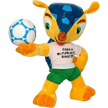 Mascote Fuleco Pelúcia Copa 2014 Brasil