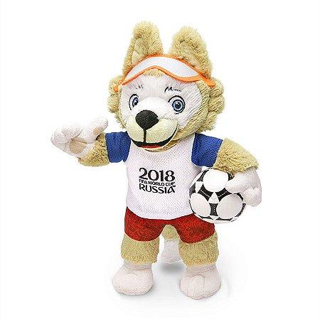Mascote da Copa 2018 Pelúcia Zabivaka