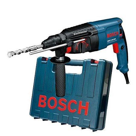 Martelo Perfurador GBH 2-26 DRE Reversivel Bosch