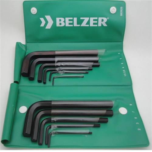 Jogo de Chave Allen Curta 1.5-10MM 11 Pç Belzer