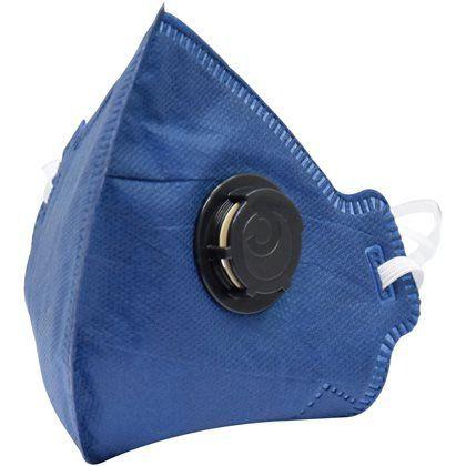 Máscara Descartável PFF2 c/ Válvula Camper