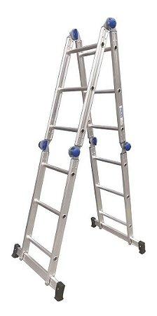 Escada Articulada 13 em 1 3x4 12 Degraus