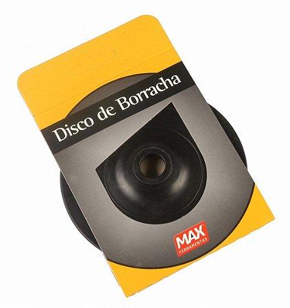 """Disco de Borracha 4.1/2"""" P/ Lixadeira 14910 Max"""
