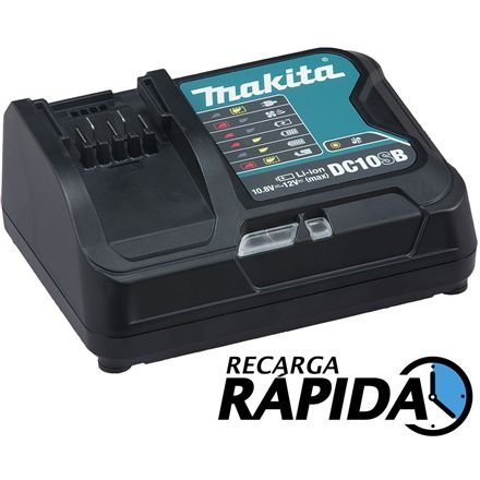 Carregador de Bateria Max DC10SB Makita