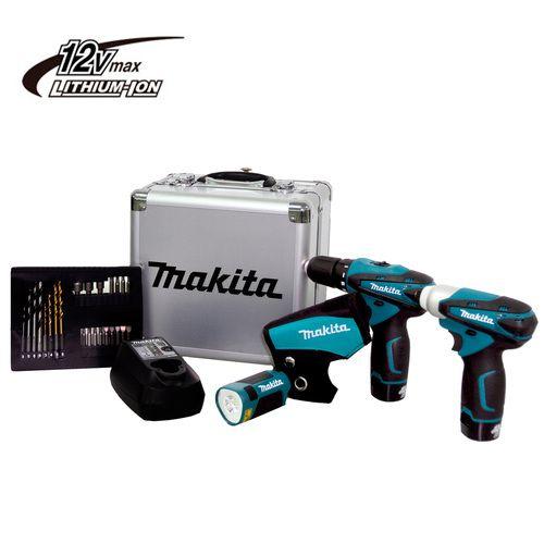 Kit Combo Makita DF330D TD090D LCT303X c/ Acessórios