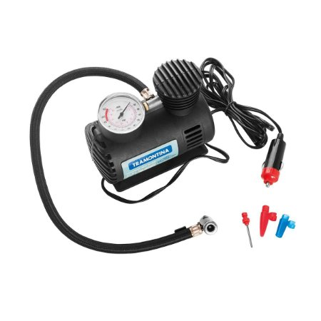 Compressor Ar 12V 50W Portátil 42330/001 Tramontina