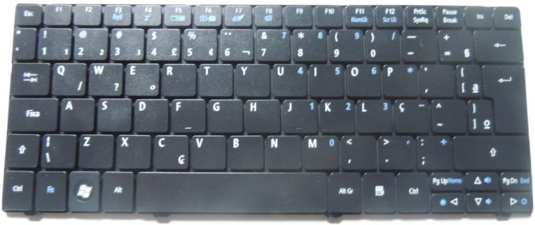Teclado Mp-09b96pa-6982 Acer One 751 721 722 753