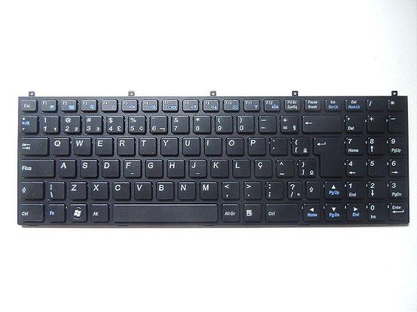 Teclado 6-80-m9800-332-1 Para Notebook Positivo Sim+ 2000