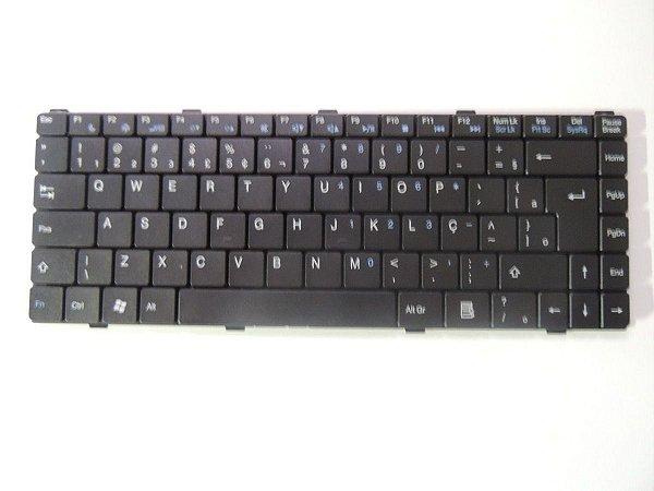Teclado Para Notebook Intelbras I10 I20 I30 I61 I67 I415 I32 I475 I479 I453 I420