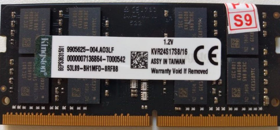Memoria 16gb Ddr4 Para Notebook