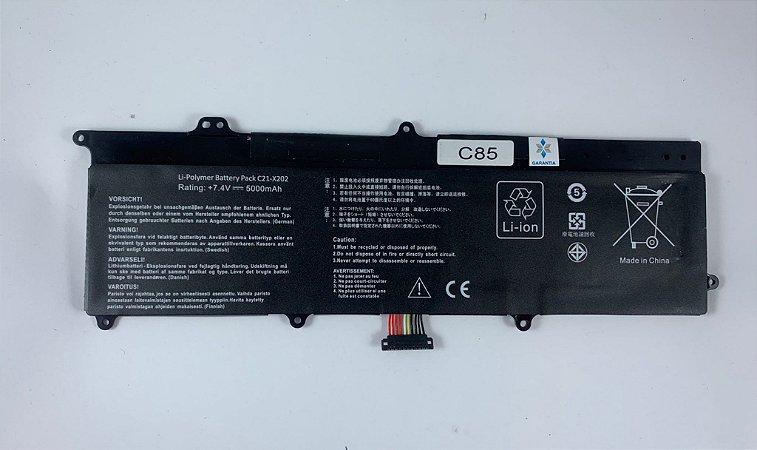 Bateria para Asus Vivobook X202E CT132H CT128H CT041H CT189H
