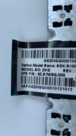 Teclado para Notebook Acer Aspire 725 756