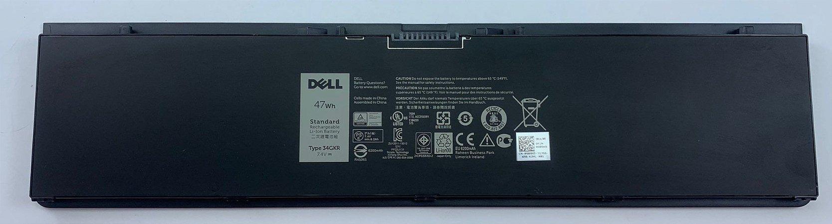 Bateria 34gkr Para Dell Latitude E7450 E7250