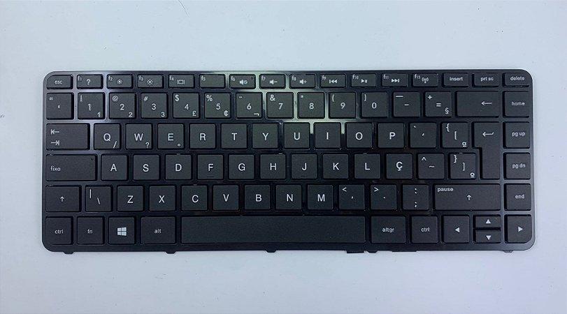Teclado para Notebook HP Pavilion 14-R051BR / HP 14-N050BR