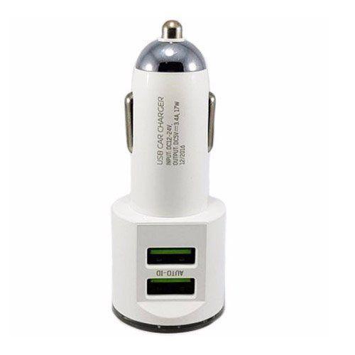 Carregador Veicular Turbo Kaidi Duplo Para Celular Motorola