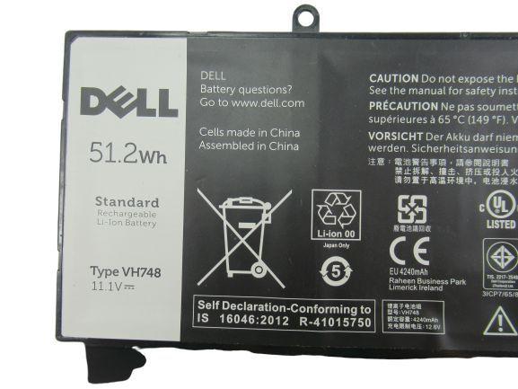 Bateria Vh748 Para Ultrabook Vostro 5480 B50