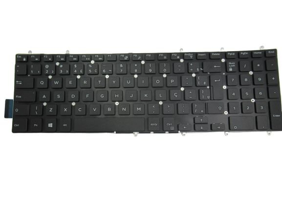 Teclado PK131Q12B01 Para Notebook Dell I15 5567 A30