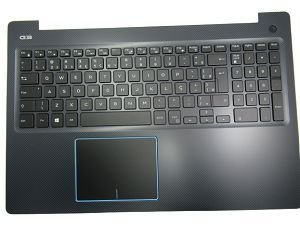 teclado c/ palmerest para notebook dell gaming g3 3579 series