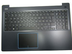 teclado c/ palmerest para notebook dell gaming g3 3579 u10p
