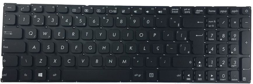 Teclado Para Notebook Asus X541na - Go472t