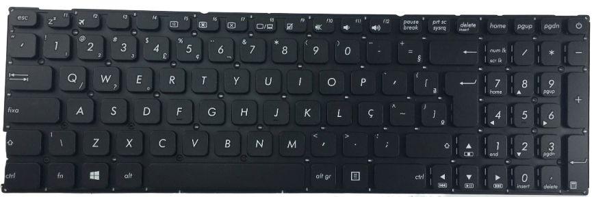 Teclado Para Notebook Asus X541na - Go473t