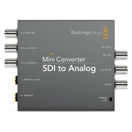 Blackmagic Mini Conversor SDI para Analógico