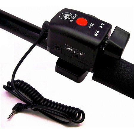 Helin Controle Remoto LANC com Zoom e Rec Para Câmeras Sony, Panasonic e Canon