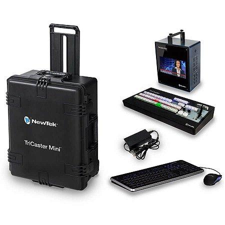 TriCaster Mini HD-4SDI com Controladora e Case