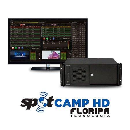 Exibidor SpotCamp HD Floripa Tecnologia