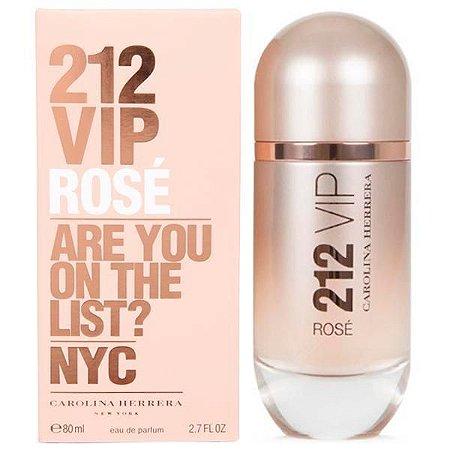dc06de08a7bea Perfume Carolina Herrera 212 Vip Rosé Eau de Parfum Feminino 80 ml ...
