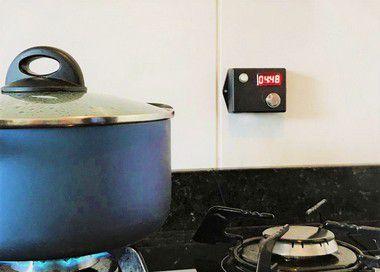 Timer para fogão a gás (Com envio de mensagens)