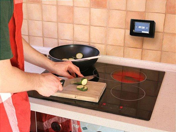Timer para fogão elétrico sensivel ao toque