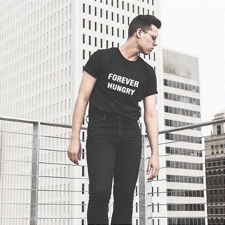 Camiseta Forever Hungry - Humanos