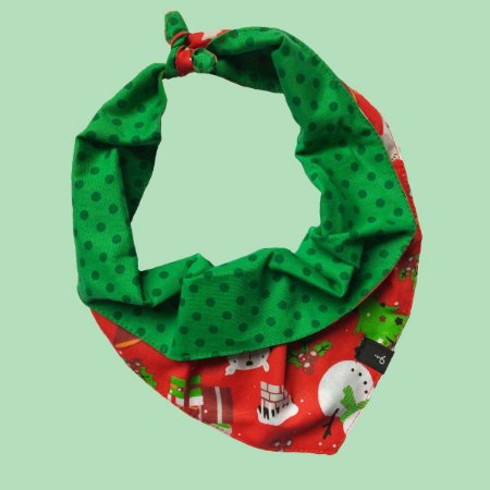 Bandana Natalina para Cachorros  - Noel
