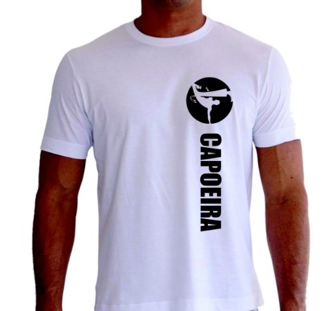 Camiseta Capoeira Two2 Create 100% algodão!