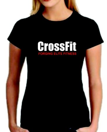 Camiseta baby look feminina Crossfit