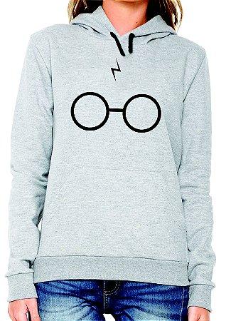 Blusa de moletom Hary óculos - moda Tumbir - Unissex
