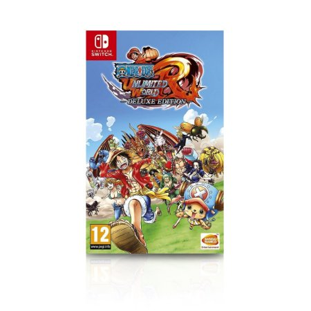 Jogo Game One Piece Unlimited World Red Delux Edition - Nintendo