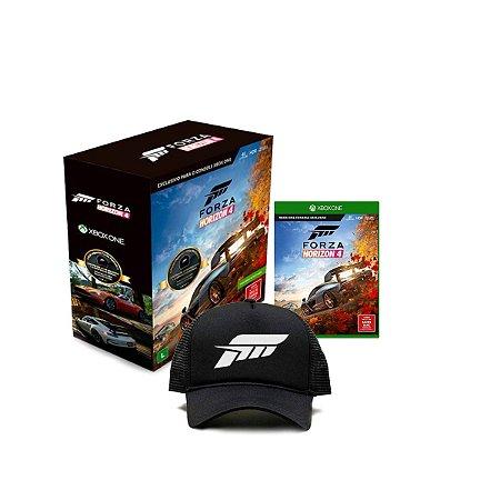 Jogo Game Forza Horizon 4 Edição Especial c/ Boné - Xbox One