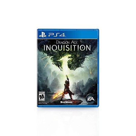 Jogo Game Dragon Age Inquisition - PS4